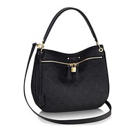 Louis Vuitton Leather Spontini Cross Body Carry Handbag Article:M42819 Noir Louis Vuitton Bag