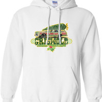 Griswold Family Christmas TV Movie Inspired beer cheers Funny hoodie hooded sweatshirt jumper shirt Mens Ladies Womens Christmas DT-644h