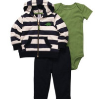 Carter's Baby-boys Captain Onesuit Set (3 Piece) - ALL Sizes Available