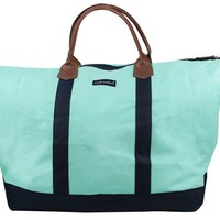 Simply Southern Collection Weekender Bag in Navy MU838-NAVY-NAVY