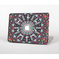 "The Mirrored Coral and Colored Vector Aztec Pattern Skin Set for the Apple MacBook Pro 13""   (A1278)"