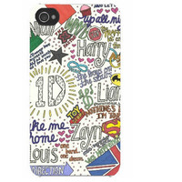 One Direction Collage Art iPhone Case