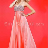 Classic Sweetheart Neckline Beadings Homecoming Dress-SinoSpecial.com