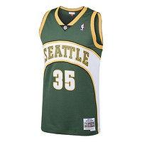 NBA Seattle SuperSonics Kevin Durant Mitchell & Ness 2007-08 Hardwood Classics Swingman Jersey