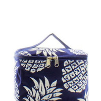 Pineapple Small Cosmetic Bag