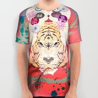 Psychedelic All Over Print Shirt by Pepe Psyche