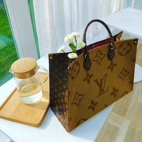 Louis Vuitton LV Women Fashion Leather Handbag Tote Satchel Bag