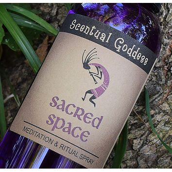 SACRED SPACE SPRAY - Dragons Blood Scented Mist for Meditation & Ritual