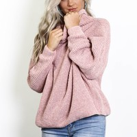 Can't Bring Me Down Chenille Sweater