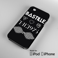 Bastille NBHD The 1975 AM - Band Logo A0533 iPhone 4S 5S 5C 6 6Plus, iPod 4 5, LG G2 G3, Sony Z2 Case