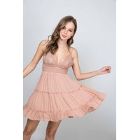 Reagan Dress (Ash Rose)