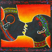 Silhouettes of Love Oil Painting