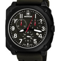 Wenger AeroGraph Cockpit PVD - coated Watch