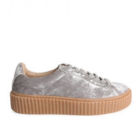 The Crushed Velvet Creepers Silver