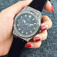 HUBLOT 2018 men and women popular logo fashionable quality quartz watch F-Fushida-8899 Grey