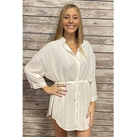 Homegrown Honey Dress- White