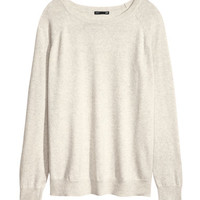 Cashmere-mix jumper - from H&M
