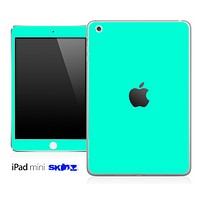 Solid Trendy Green Skin for the iPad Mini or Other iPad Versions