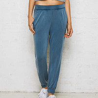 Don't Ask Why Relaxed Jogger Pant, Light Blue