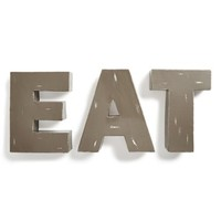 Foreside 'Eat' Decorative Metal Letters