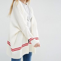 ASOS Cardigan With Tipping