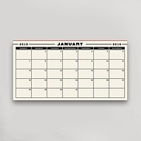 2018 Calendar Pad Replacement