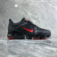 HCXX N895 Nike Air Vapormax 2019 mesh breathable Drop molding Running Shoes black Red