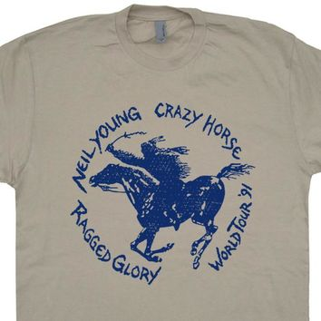 Neil Young T Shirt Vintage Neil Young Shirt Vintage Band T Shirts Ragged Glory