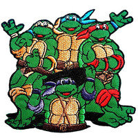 Teenage Mutant Ninja Turtles Embroidered Iron on Patch #AF