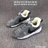 Nike MARS YARD / TS Fall and winter velvet warm fashion shoes F-CSXY gray