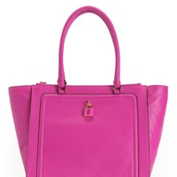 Luxe Locks Leather Tote by Juicy Couture, O/S