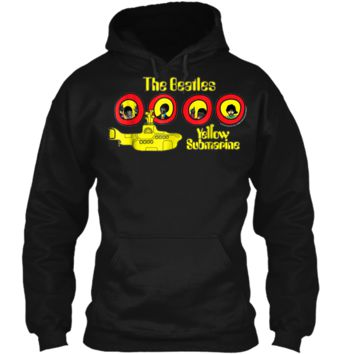 The Beatles Yellow Submarine  Pullover Hoodie 8 oz