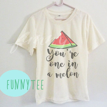Crew neck sweatshirt Watermelon tshirt Short sleeve tee shirts+off white or grey toddlers shirt +kids girl boy clothes