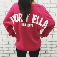 Wildberry Varsity Ella Jersey