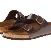 Birkenstock Arizona Soft Footbed Brown Amalfi Leather