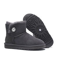 DHL Women's UGG snow boots warm cotton shoes _1686248855-112