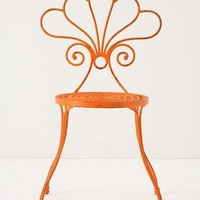 Le Versha Chair, Orange - eclectic - outdoor chairs -  - by Anthropologie