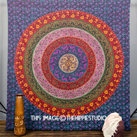 Indian Mandala Tapestries, Hippie Tapestries, Tapestry Wall Hanging, Wall Tapestries, Bohemian Bed Spread Boho Indian Tapestries, Dorm Decor