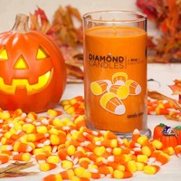 Candy Corn Ring Candle