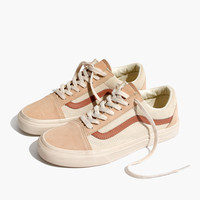 Madewell x Vans® Unisex Old Skool Lace-Up Sneakers in Camel Colorblock : | Madewell