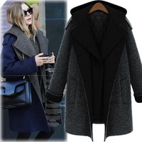 Plus Size Coat Women's Fashion Slim Korean Winter Jacket [44579553305]