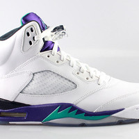 Air Jordan Men's Retro 5 V Grape 2013