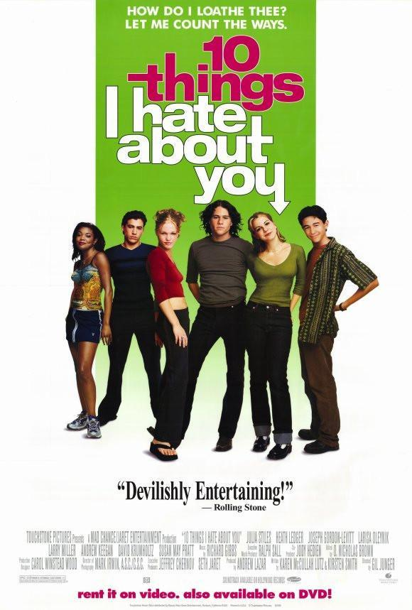 Image of Ten Things I Hate About You 27x40 Movie Poster (1999)
