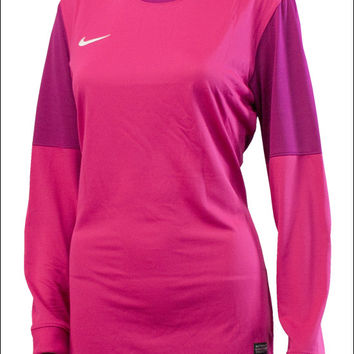 Nike Womens Club II Goalie Jersey - Fireberry with Rave Pink - SoccerMaster.com