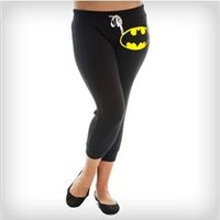 Batman Cropped Junior Fitted Pants