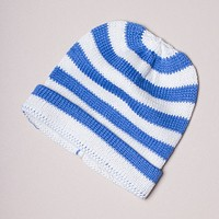 Organic Baby Hats, Handmade in Stripe Colors