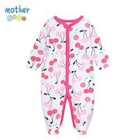 Nest Winter Baby Rompers Clothes born Boy Girl 100% Cotton Long Sleeves Baby Jumpsuit Clothing Baby Products