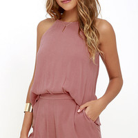 Canyon Companion Rusty Rose Romper