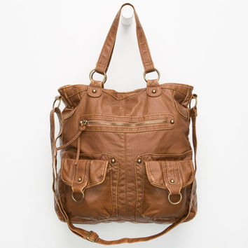 T-Shirt & Jeans Vera Tote Bag Cognac One Size For Women 25763040901