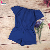 Women Rompers and Jumpsuit Sexy Strapless Fashion
